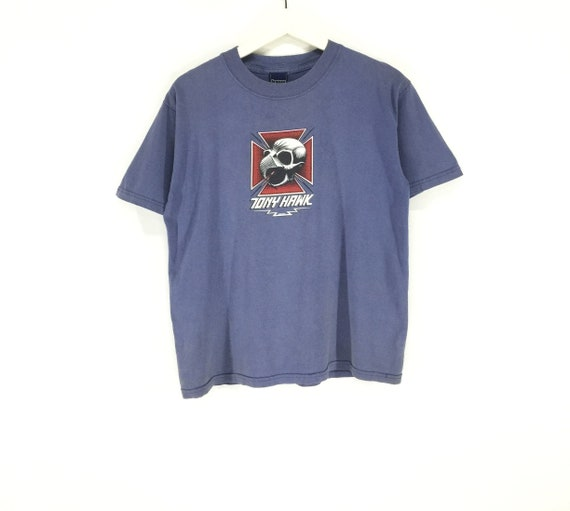Rare!! Tony hawk vintage 90s skate shirt/birdhouse