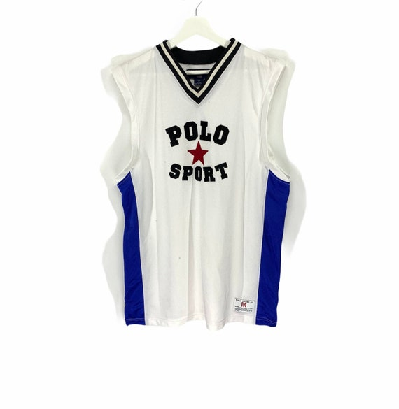 Rare!! Polo sport vintage tank top jersey