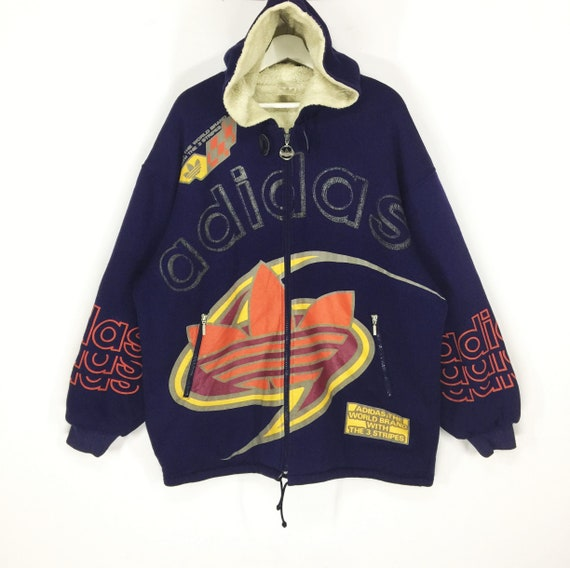 most popular look out for no sale tax Rare!!Adidas spell out big logo multicolor vintage hoodies sweater  jacket/rare design/hip hop swag fashion/asap rocky