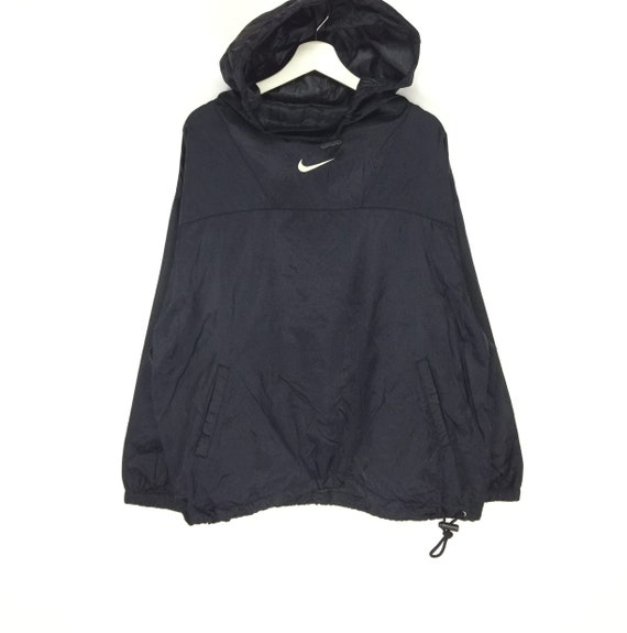 Rare!! Nike center swoosh logo vintage 90s hoodies