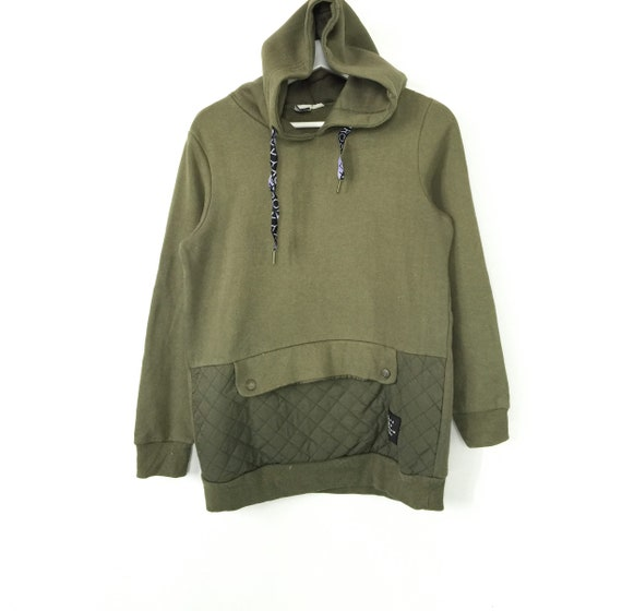Rare!! Roxy quilted hoodies sweatshirt