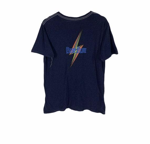 Rare!! Lightning bolt x blue blue indigo shirt