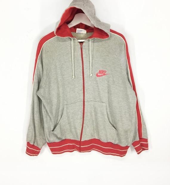 Rare!!Nike orange tag vintage 70s 80s hoodies swea