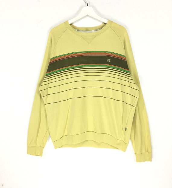 Rare!! Hang ten small logo vintage 90s sweatshirt/