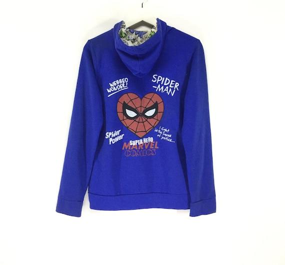 Rare!! Marvel comics spiderman hoodies sweatshirt