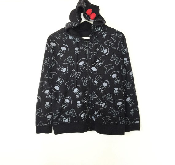 Rare!! Disney fullprint hoodies sweatshirt