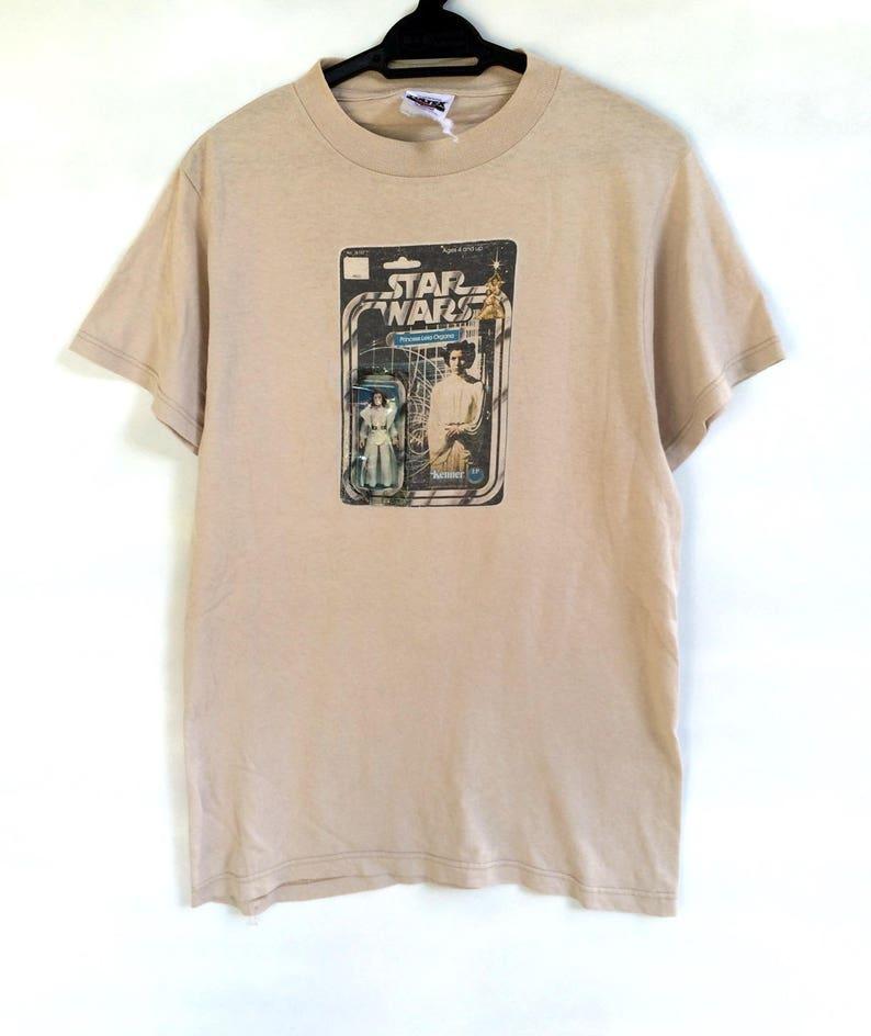 1724f23b312 Star wars princess leia organa toys promo vintage 90s shirt