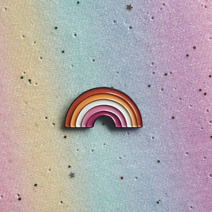 LAVENDER MENACE LGBT Pin Lesbian Pin Gay Pin Enamel Pin Feminist Rainbow Pin Gay Girls Pride Pin Feminism Lesbian Girlfriend  Lesbian Gift
