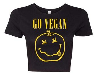 Vegan Nirvana Crop Top
