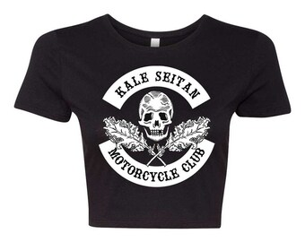 Kale Seitan Motorcycle Club Crop Top