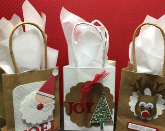christmas mini paper gift bags mini paper bags for christmas handmade christmas gift bags christmas party gift bags