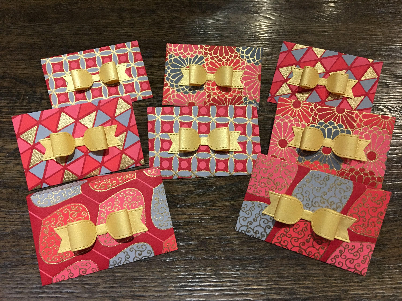 Christmas Gift Card Holders Handmade Giftcard Holder Gift Etsy