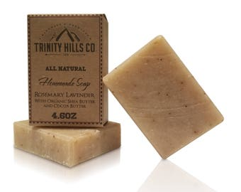 Rosemary Lavender Face and Body Soap