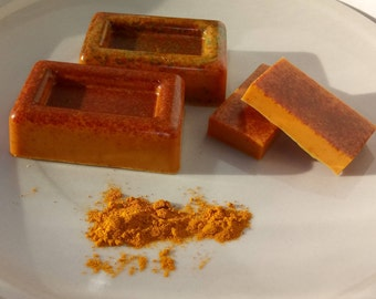 Turmeric & Goat Milk Soap Bar - Soothing for Dry Skin, Eczema, Acne and Psoriasis Soap - Skin Healing Soap - Reduces Scarring of Skin
