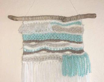 Woven wall hanging / wall weaving / home decor
