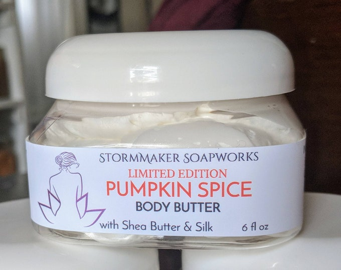Featured listing image: PUMPKIN SPICE!  Body Butter, Natural Skin Care