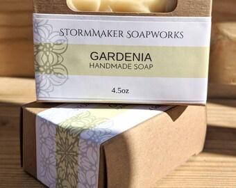 Gardenia, Handmade Soap, Palm Free