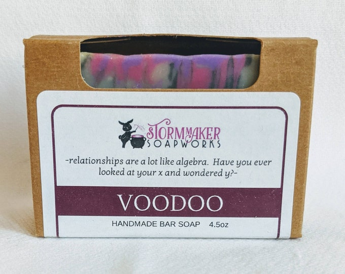 Featured listing image: Voodoo, Handmade Bar Soap, Palm Free, Vegan