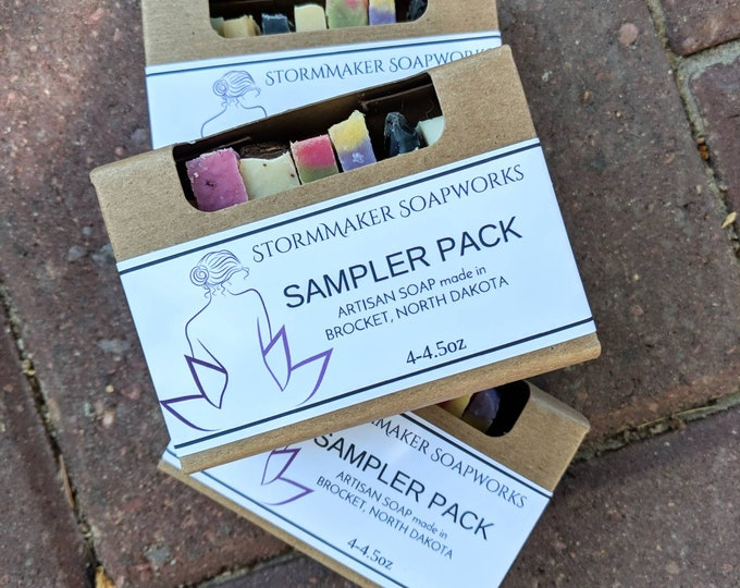 Featured listing image: SOAP SAMPLER, Handmade Soap, Palm Free