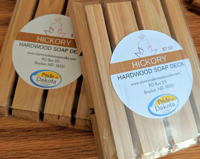 Featured listing image: Hardwood Soap Deck, All Natural Soap Dish