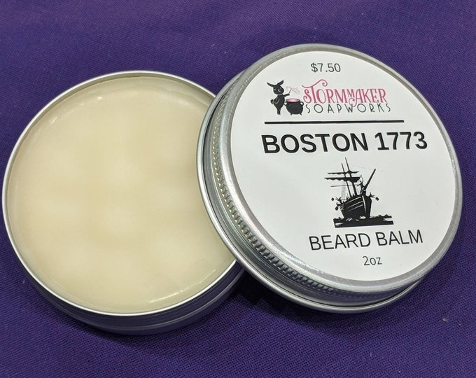 Featured listing image: Beard Balm, Hair Conditioning, Natural Beard Care