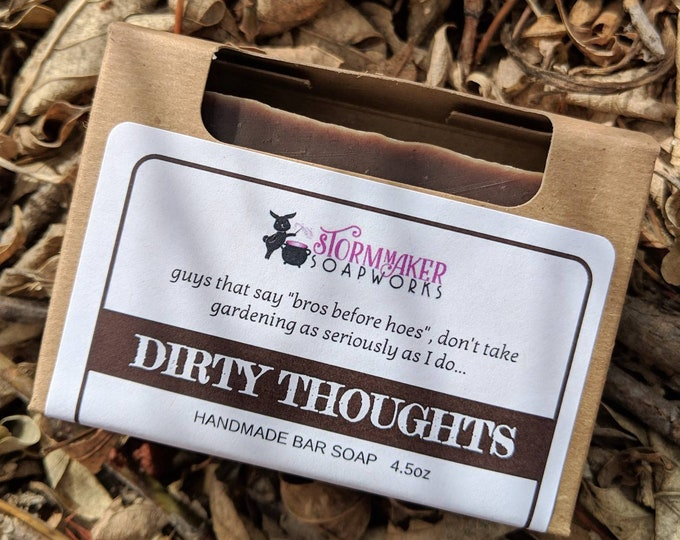 Featured listing image: Dirty Thoughts Bar Soap