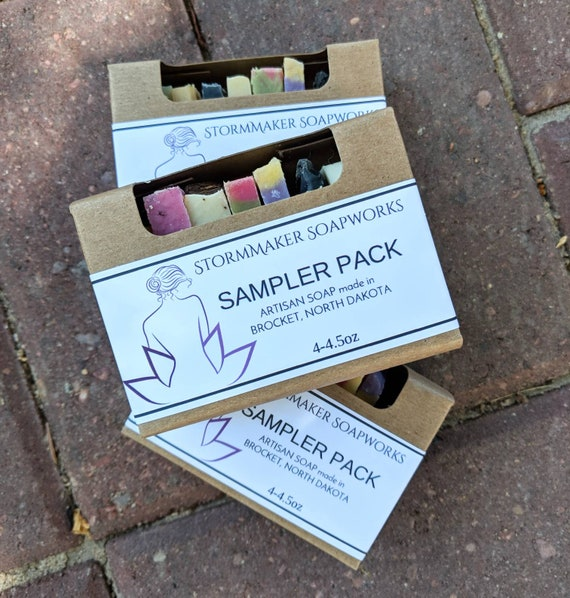 SOAP SAMPLER, Handmade Soap, Palm Free