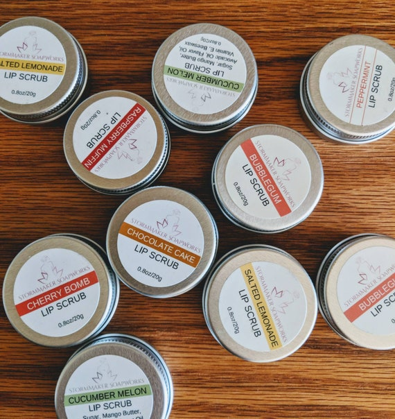 Lip Scrub, Sugar Scrub, Natural Lip Care