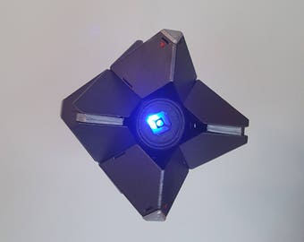 Destiny Ghost complete with LED and customised stand