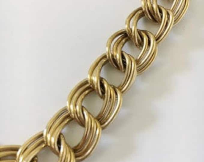double curb chain necklace