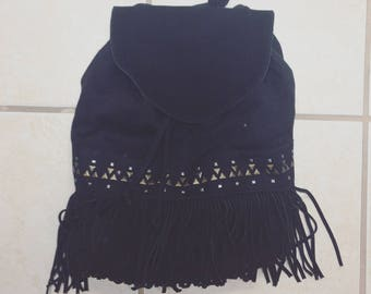 Fringe Mini Backpack/Fringe/Backpack/Fringe Bag