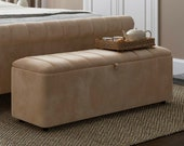 Create Your Own Ottoman Box - Choose Your Size - Choose Your Material Colour - Bespoke Made to Order