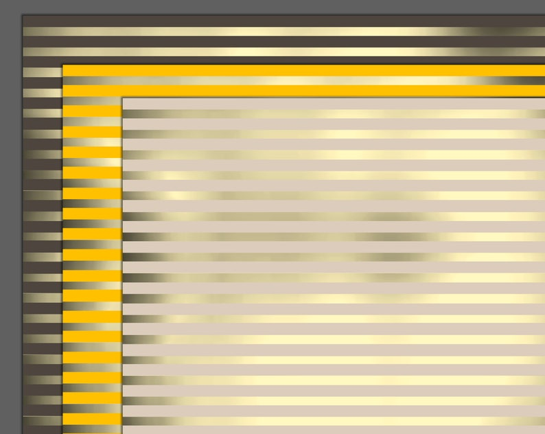 Shiny metallic lines luxury backgrounds, horizontal golden silver lines,  use for any digital project, images for editing