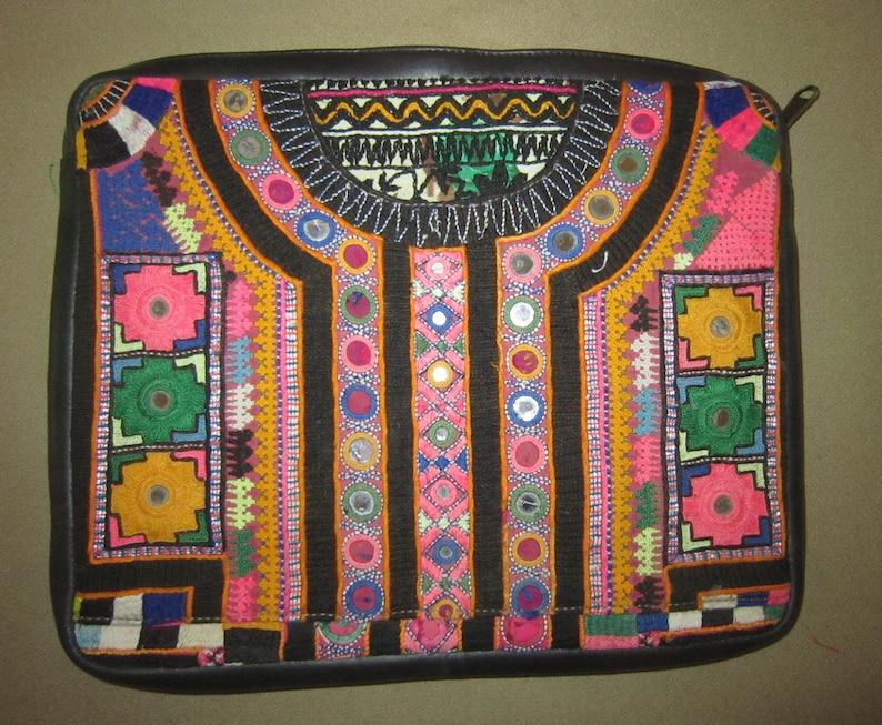Vintage TRIBAL Banjara Gypsy Laptop BAG IPAD case Hand Made Kuchi Hippie 559