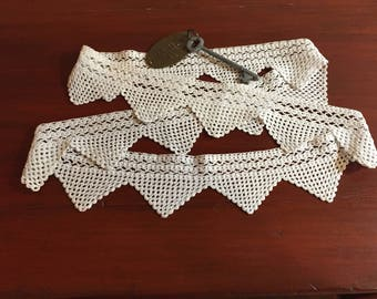 Vintage Lace - Crocheted Pillow Case Border