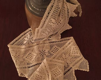 Cotton Crocheted Lace