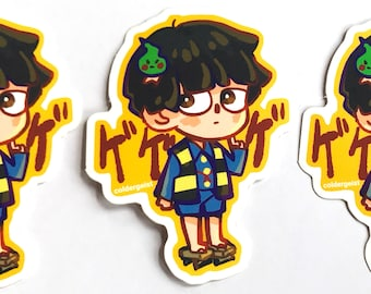 Vinyl Stickers - Mob Psycho 100 Gegege no Shigeo - Durable Decals - Free Shipping