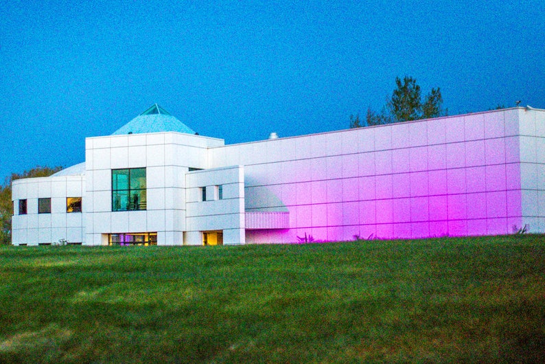Paisley Park At Night Prince Purple Rain Paisley Park Tour Etsy