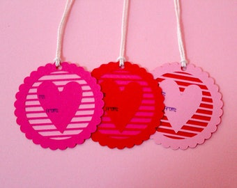 Valentine's gift tags / Valentine's Day tags