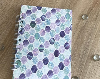 Pastel scale A5 Lined Notebook
