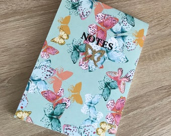Butterfly lined notepad for every occasion