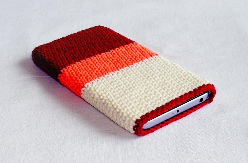 Crochet Phone Cover Crochet Cell Phone Case Smart Phone Etsy