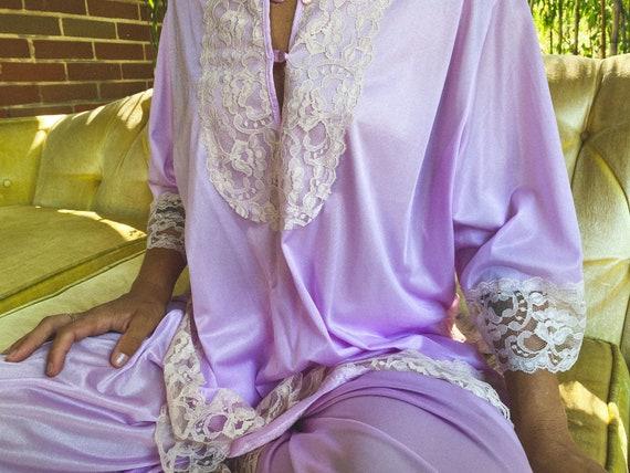 Vintage Lavender Loungewear Set