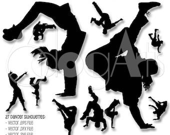 Hip Hop Dance Svg Etsy