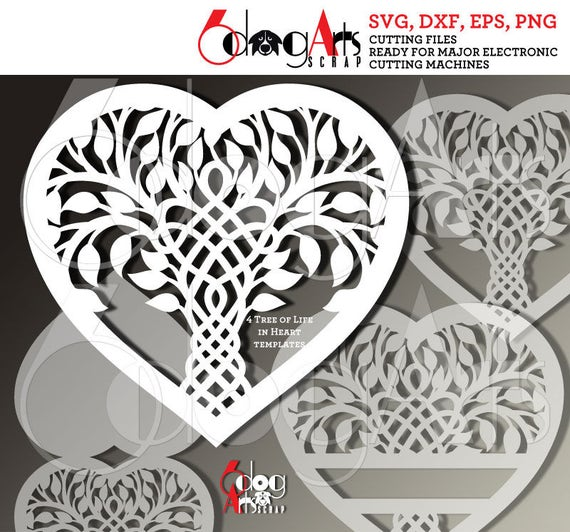 photo regarding Printable Celtic Stencils named Celtic Tree of Lifestyle Family members Center Electronic Minimize Documents SVG DXF Cuttable Patterns Printable Obtain Iron Upon Shift Silhouette Cricut JB-958