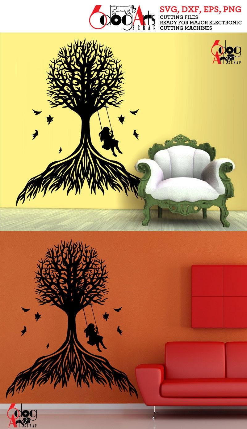 Tree Swing Clipart