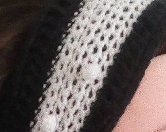 Handmade headband ear warmer