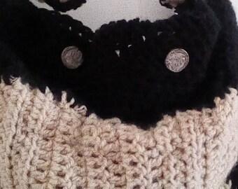 Double bag created crochet