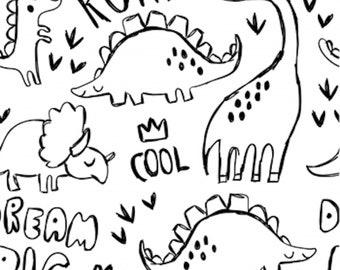 Jersey Dino , Dinosaur JER Roar White Premium