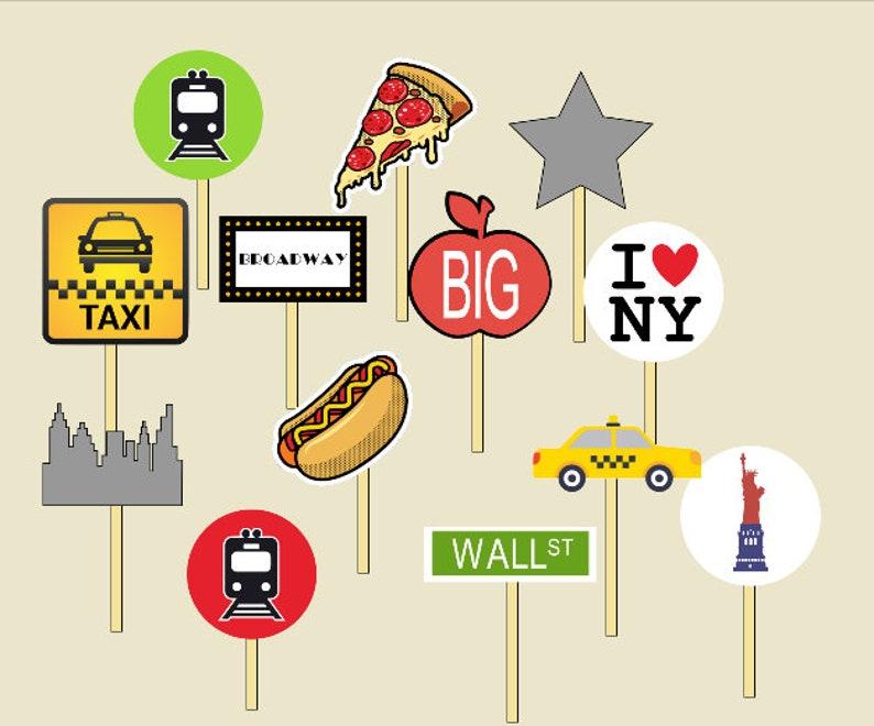 NYC New York City Subway Garland Bunting Handmade